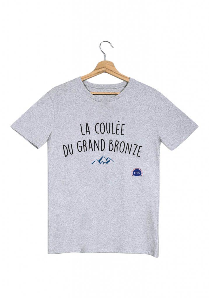 La coulée du grand bronze-les-bronzes-font-du-ski-tshirt-homme/