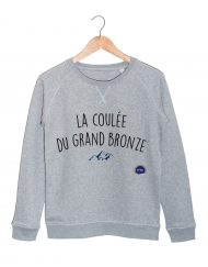 la coulee du grand bronze sweat federation de la replique culte les bronzes font du ski