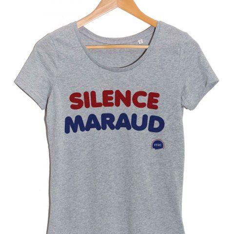Silence maraud-les-visiteurs-tshirt-femme-federation-francaise-de-la-replique-culte